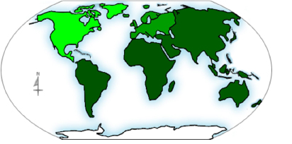 Image of the Continents of the World